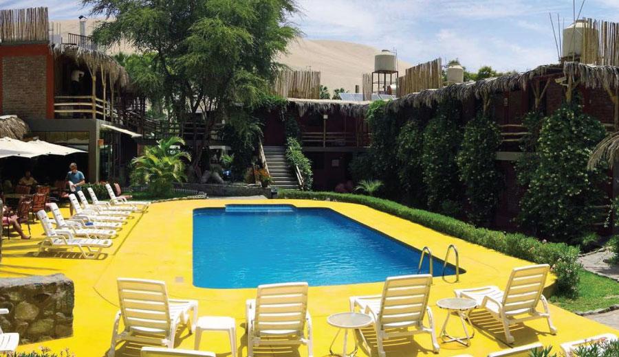 huacachinero hotel ica